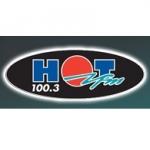 Logo da emissora Radio Hot 100.3 FM