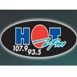 Logo da emissora Radio Hot 93.5 / 107.9 FM