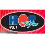 Logo da emissora Radio Hot 95.1 FM