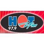Logo da emissora Radio Hot 97.9 FM