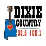 Logo da emissora WDXX 100.1 FM Dixie Country