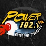Logo da emissora Power 102.1 FM