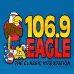 Logo da emissora WWEG 106.9 FM The Eagle