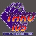 Logo da emissora KTKU 105.1 FM