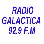 Logo da emissora Radio Galactica 92.9 FM