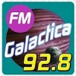 Logo da emissora Radio Galactica 92.8 FM