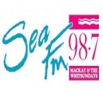 Logo da emissora Radio Sea 98.7 FM