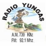 Logo da emissora Radio Yungas 730 AM 92.1 FM