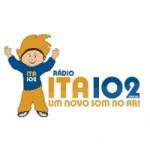 Logo da emissora Rádio Ita 102