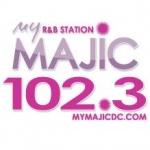 Logo da emissora WMMJ 102.3 FM