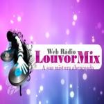 Logo da emissora Rádio Louvor Mix