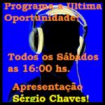 Logo da emissora Rádio A Última Oportunidade
