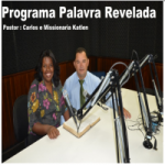 Logo da emissora Rádio gospel Palavra Revelada