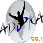 Logo da emissora Rádio Adora 99.1 FM