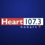 Logo da emissora Radio Heart 107.3 FM