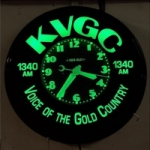 Logo da emissora Radio KVGC 1340 AM