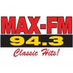 Logo da emissora Max 94.3 FM