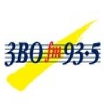 Logo da emissora Radio 3BO 93.5 FM
