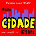 Logo da emissora Rádio Cidade Parnaíba