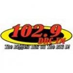 Logo da emissora WDRC 102.9 FM