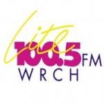 Logo da emissora WRCH 100.5 FM