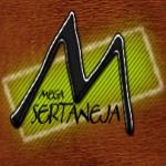 Logo da emissora Rádio Mega Sertaneja
