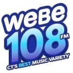 Logo da emissora Radio WEBE 107.9 FM