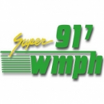 Logo da emissora Radio WMPH 91.7 FM