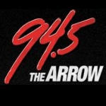 Logo da emissora WARO 94.5 FM The Arrow