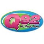 Logo da emissora WECQ 92.1 FM