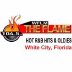 Logo da emissora Radio WFLM 104.5 FM