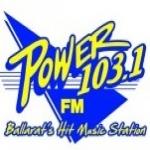Logo da emissora Radio Power 103.1 FM