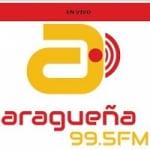 Logo da emissora Radio Aragüeña 99.5 FM