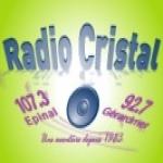 Logo da emissora Cristal 107.3 FM