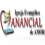 Logo da emissora Rádio Manancial de Amor