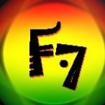 Logo da emissora Rádio F7
