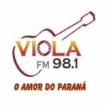 Logo da emissora R�dio Viola 98.1 FM