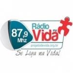 Logo da emissora Rádio Vida 87.9 FM