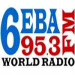 Logo da emissora Radio 6EBA 95.3 FM
