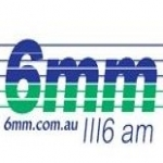 Logo da emissora Radio 6MM 1116 AM