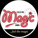 Logo da emissora Radio Magic Aba 102.9 FM