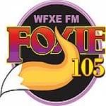 Logo da emissora Radio WFXE 104.9 FM