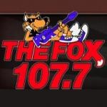 Logo da emissora WHFX 107.7 FM The Fox