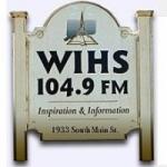 Logo da emissora Radio WIHS 104.9 FM