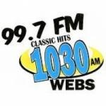 Logo da emissora Radio WEBS 99.7 FM 1030 AM