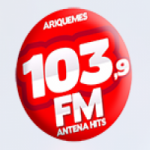 Logo da emissora R�dio Antena 103.9 FM