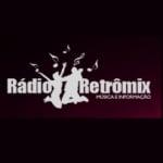 Logo da emissora Rádio Retro Mix