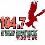 Logo da emissora Radio WTHG 104.7 FM