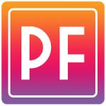 Logo da emissora Puro Flashback