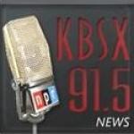 Logo da emissora KBSX 91.5 FM Boise State Public